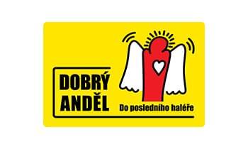 logo nadace Dobrý anděl